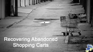 Introduction To Recovering Abandoned Shopping Carts