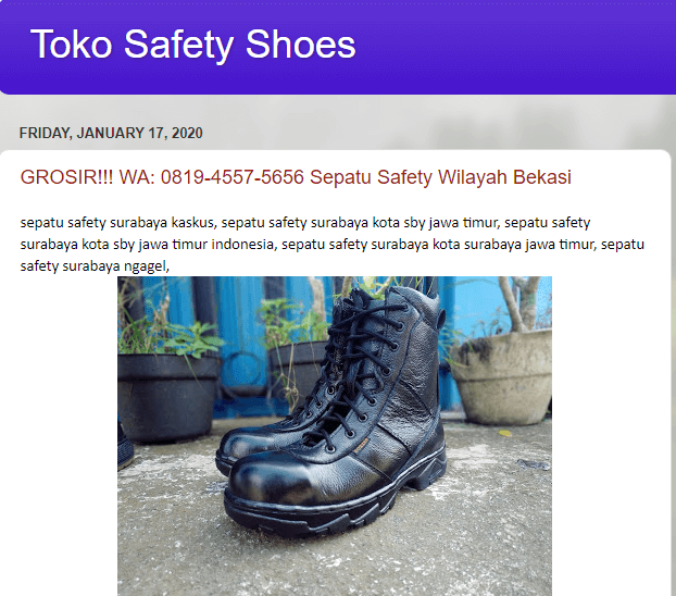 Toko Safety Shoes
